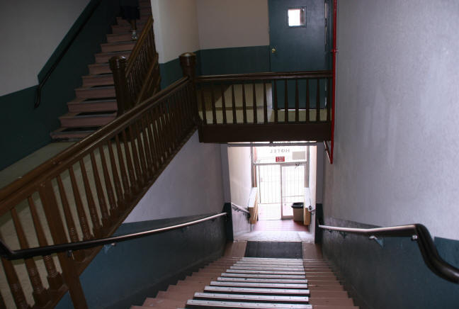 image of Hotel staircase