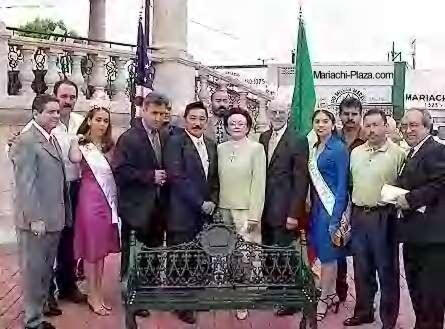 image of dedication ceremony hosted by MTA, State of Jalisco, Mexico.