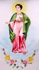 image of patron saint of the musician